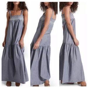 Current/Elliott Rancher Chambray Maxi Dress